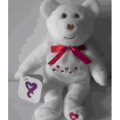 Congenital Heart Defect Awareness Beanie Bear